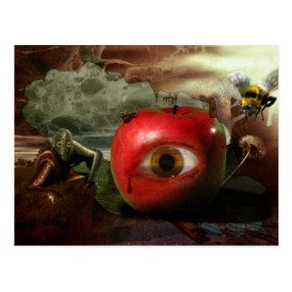 L'automne de la carte postale du jardin d'Éden
