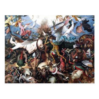 L'automne des anges rebelles par Pieter Bruegel Carte Postale