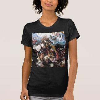 L'automne des anges rebelles par Pieter Bruegel T-shirt