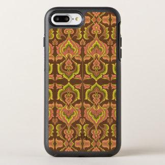 L'automne vintage exotique colore le jaune vert de coque otterbox symmetry pour iPhone 7 plus