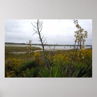 L'autre côté de l'île de chêne poster