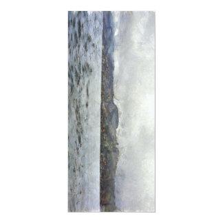 L'autre côté du lac carton d'invitation  10,16 cm x 23,49 cm