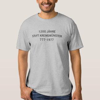 L'Autriche Kremsmunster chemise de pièce de T-shirts