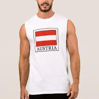 L'Autriche Tee-shirt Sans Manches