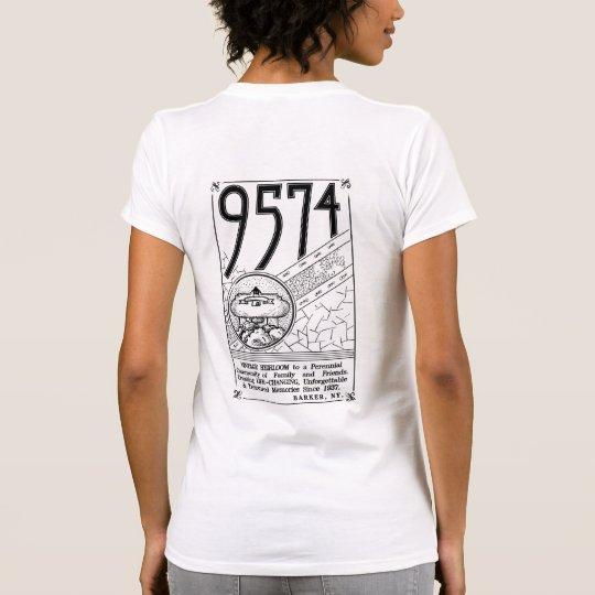 L'avant adapté des femmes t-shirt