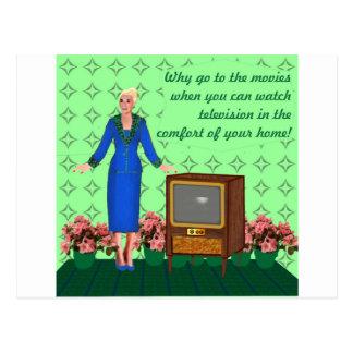 L'avènement de la télévision carte postale