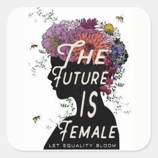 L'avenir est femelle - des autocollants