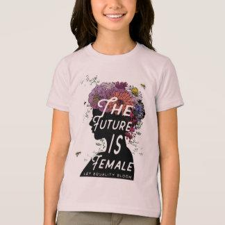 L'avenir est femelle - jeunesse de T-shirt d'aa