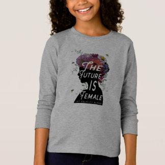 L'avenir est femelle - longue jeunesse de T-shirt