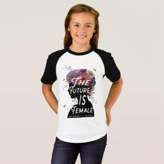 L'avenir est femelle - T-shirt court de douille de