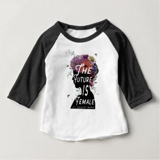 L'avenir est femelle - T-shirt d'enfant en bas âge
