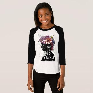 L'avenir est femelle - T-shirt junior