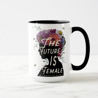 L'avenir est femelle - tasse de café