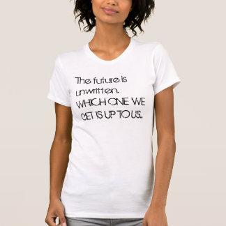 L'avenir est non écrit. VERS LE HAUT DE LESQUELS
