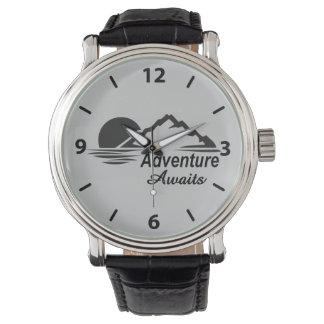 L'aventure attend la nature grande dehors montres bracelet