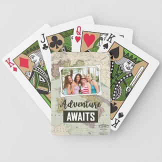 L'aventure attend le téléchargement de la carte | jeu de poker