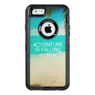 L'aventure de plage appelle le téléphone de coque OtterBox iPhone 6/6s