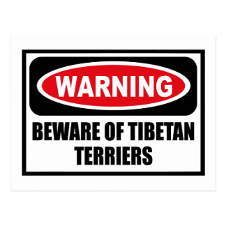 L'avertissement PRENNENT GARDE de la carte postale