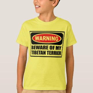 L'avertissement PRENNENT GARDE du T-shirt de MON