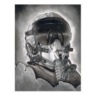 L'aviateur Carte Postale