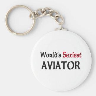 L'aviateur le plus sexy du monde porte-clé