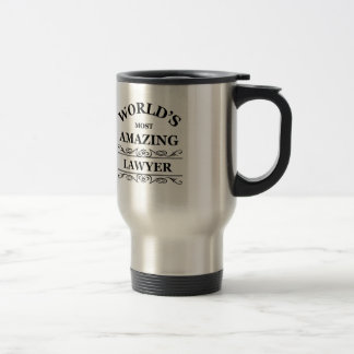 L'avocat le plus extraordinaire du monde mug de voyage
