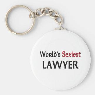 L'avocat le plus sexy du monde porte-clef
