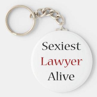 L'avocat le plus sexy vivant porte-clé rond