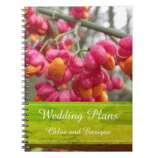 L'axe rose fleurit le carnet de mariage