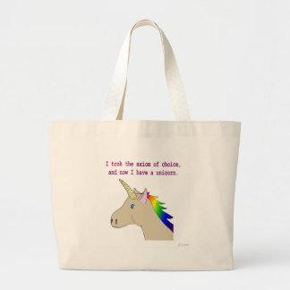 L'axiome du choix fait des licornes ! grand sac