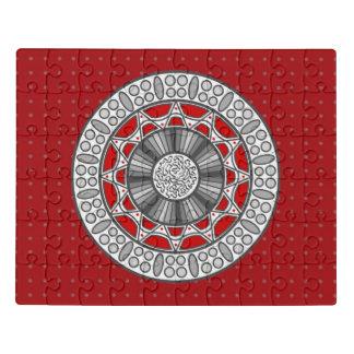 L'Aztèque rencontre le puzzle acrylique étranger