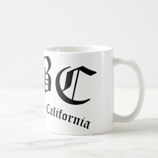 LBC Long Beach la Californie Mug