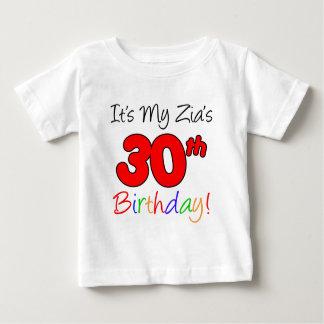 Le 30ème anniversaire de Zia T-shirt Pour Bébé