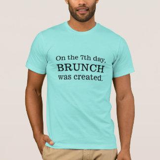 Le 7ème jour, brunch t-shirt