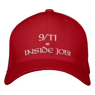 Le 9/11 travail intérieur Red Hat Casquette Brodée
