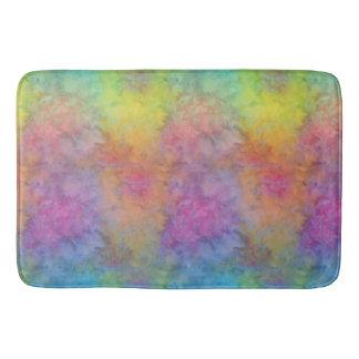 """Le """"arc-en-ciel Frost"""" multicolore teignent en Tapis De Bain"""
