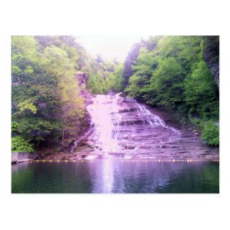 Le babeurre tombe dans Ithaca, carte postale de NY