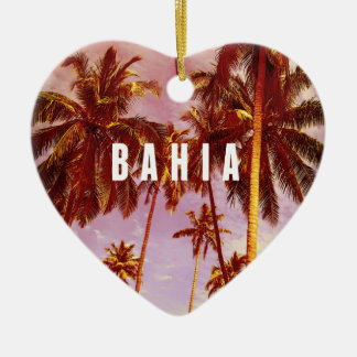 Le Bahia Ornement Cœur En Céramique