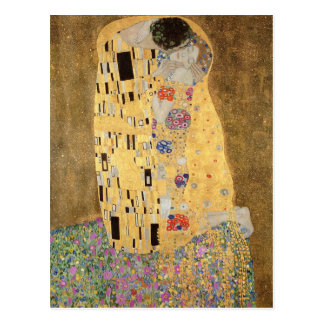 Le baiser, 1907-08 cartes postales