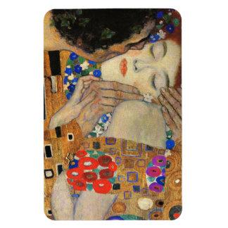 Le baiser (détail) Gustav Klimt Magnets Rectangulaire