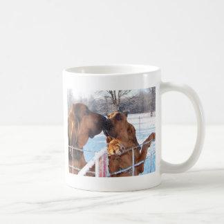 Le baiser - limier mug