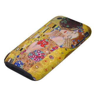 Le baiser par Gustav Klimt, art vintage Nouveau Coques iPhone 3 Tough