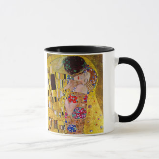 Le baiser par Gustav Klimt, art vintage Nouveau Mugs