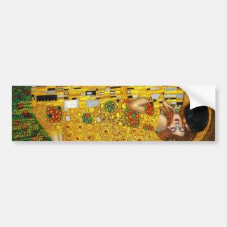 Le baiser par Gustav Klimt Autocollant Pour Voiture