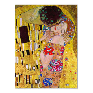 Le baiser par Gustav Klimt, mariage victorien