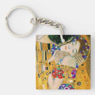 Le baiser par Gustav Klimt Porte-clés