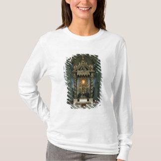 Le Baldacchino, le haut autel et la chaise