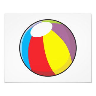 Le ballon de plage en plastique gonflable fait sur impression photo