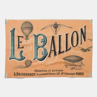 Le Ballon Serviette Éponge