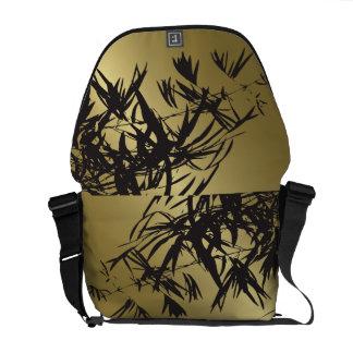 Le bambou d'or laisse à zen le sac de nature d'art sacoches